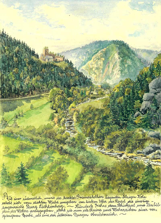 hans-gielge-zeichnung-ruine