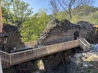 Geländer bei der Westmauer